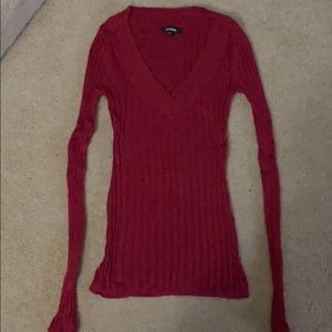 Express Red Sweater